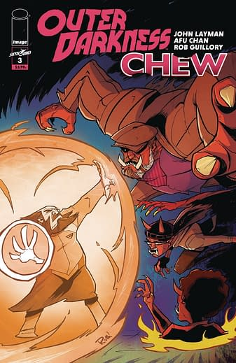 Outer Darkness/Chew #3, variant cover di Afu Chan