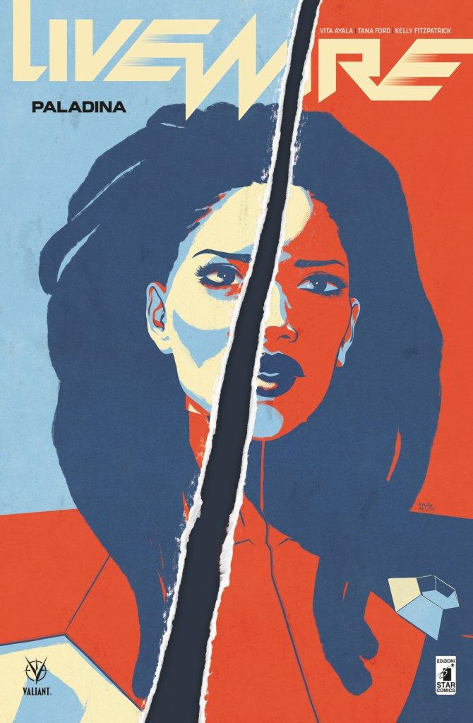Livewire vol. 3: Paladina, copertina di Raul Allen