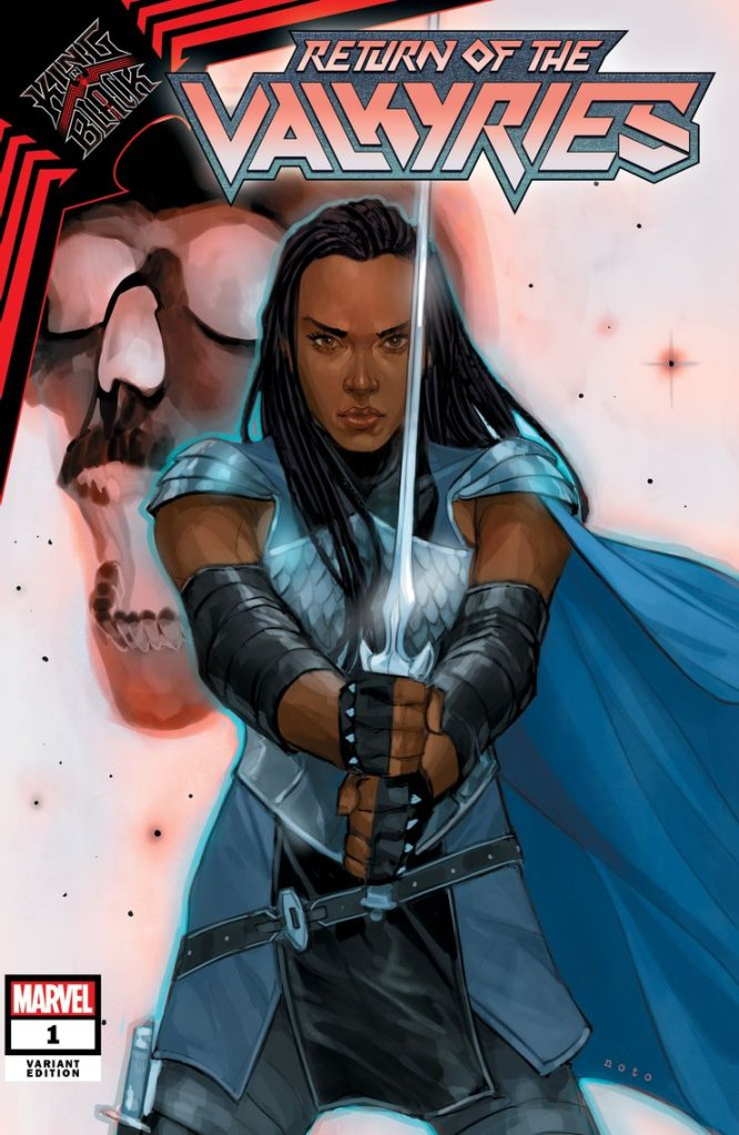 King in Black: Return of the Valkyries #1, variant cover di Phil Noto