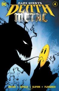 Death Metal #4, copertina di Greg Capullo