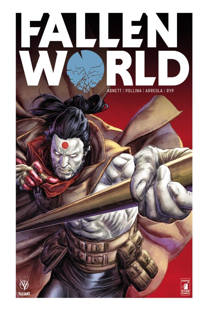 Fallen World, copertina di Doug Braiithwaite