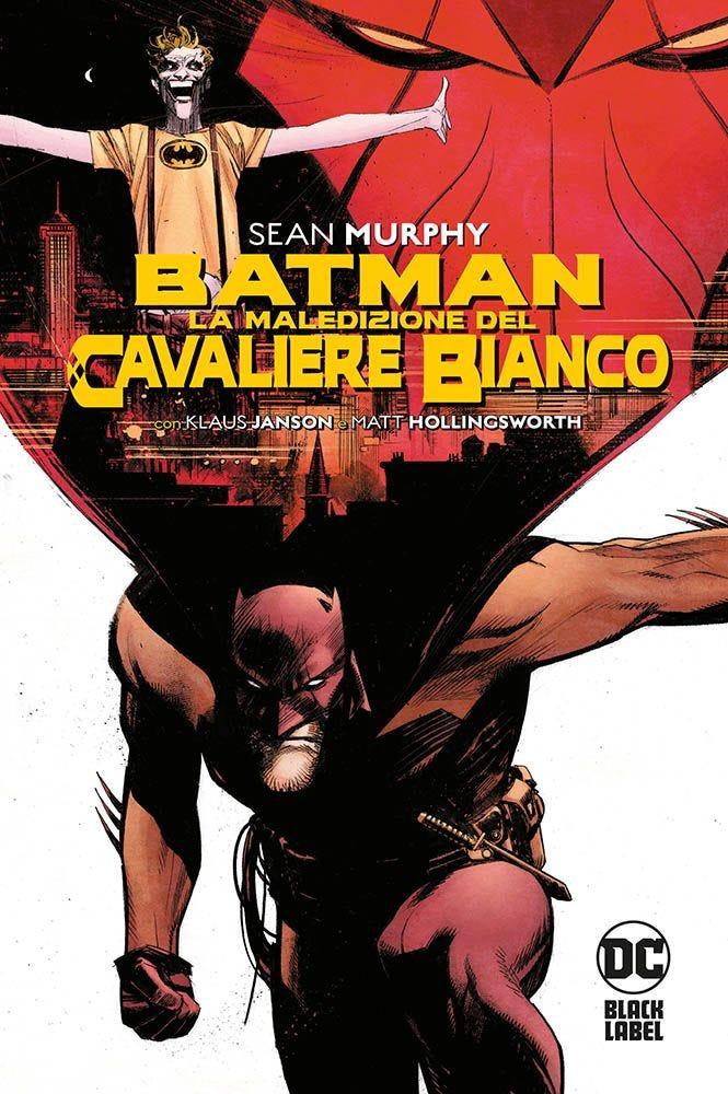 Batman: La maledizione del Cavaliere Bianco, copertina di Sean Murphy