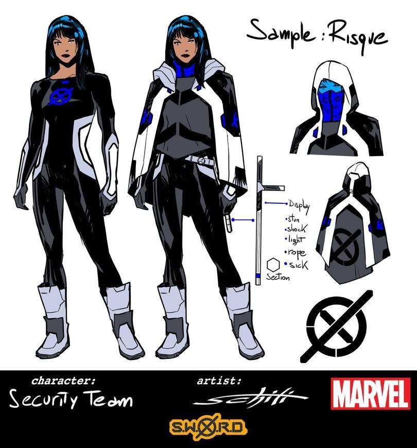 S.W.O.R.D.: Risque, character design di Valerio Schiti