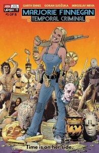 Marjorie Finnegan #1, copertina di Goran Sudzuka