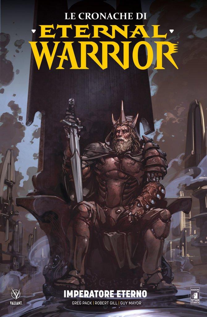 Le Cronache di Eternal Warrior vol. 2: Imperatore eterno, copertina di