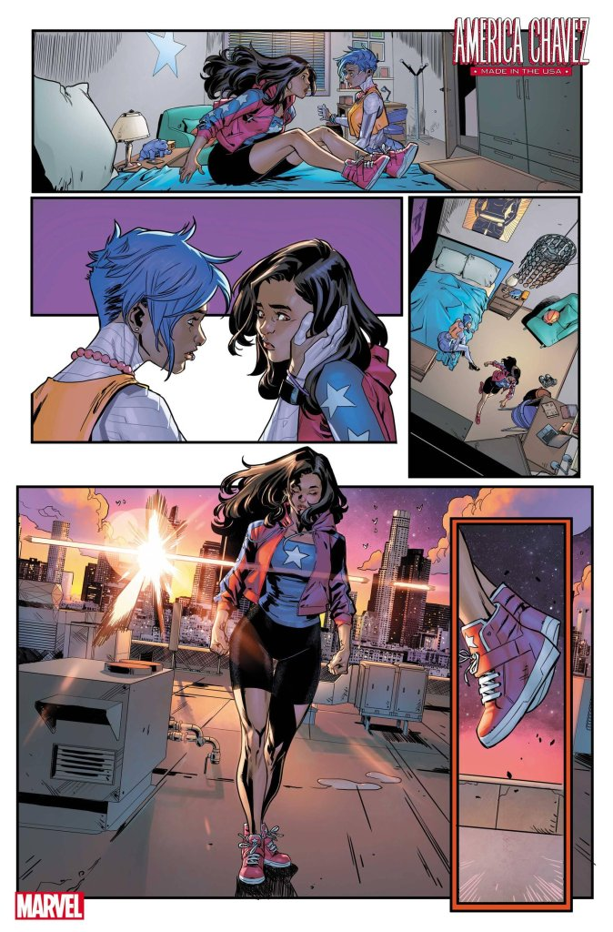 America Chavez: Made in the U.S.A. #1, anteprima 03