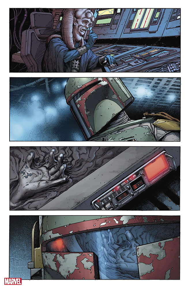 War of the Bounty Hunters Alpha #1, anteprima 02