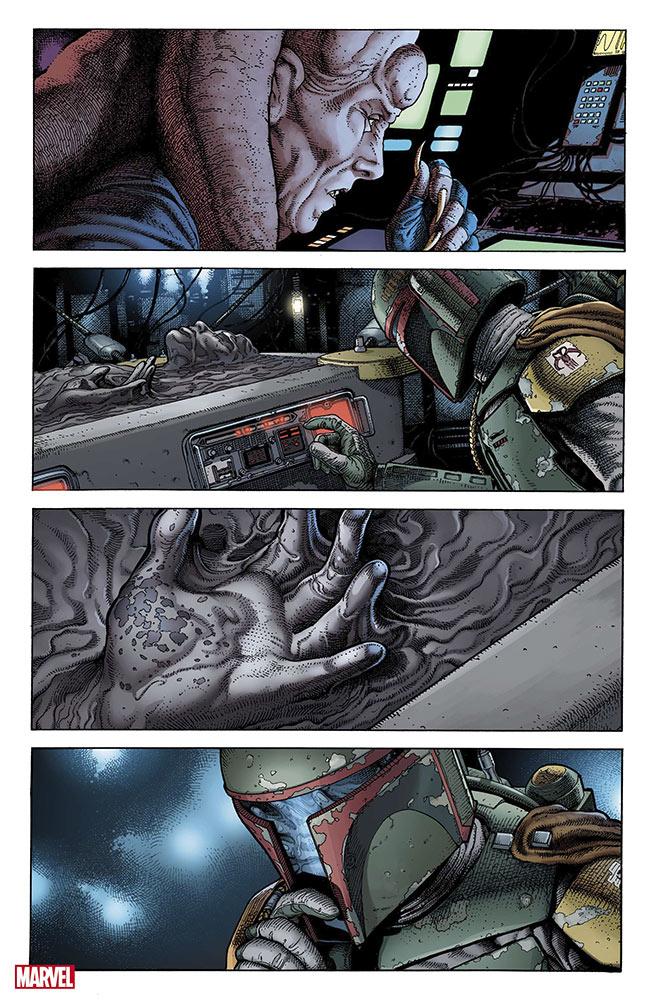 War of the Bounty Hunters Alpha #1, anteprima 03
