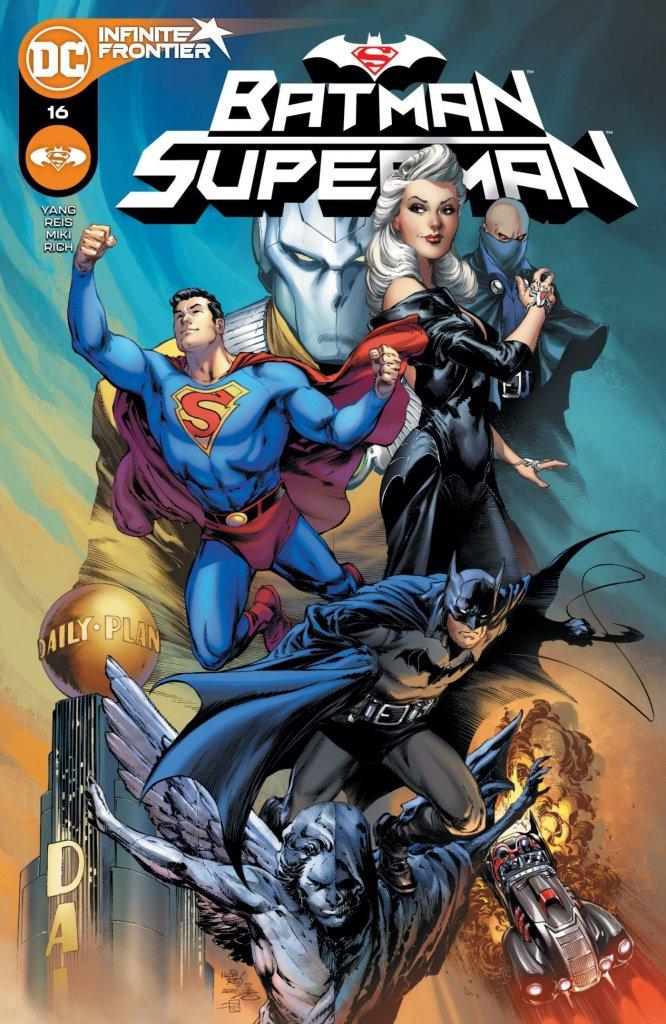 Batman/Superman #16, copertina di Ivan Reis