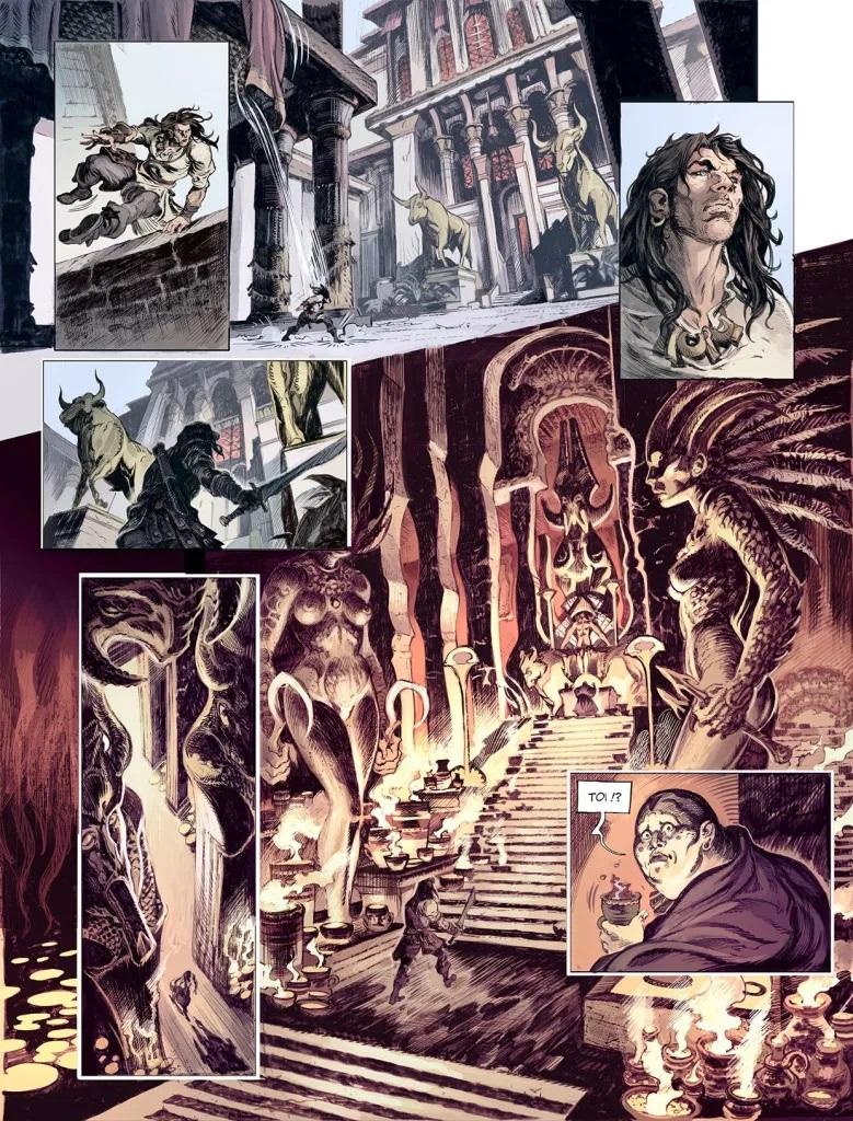 Conan le Cimmérien: La maison aux trois bandits, anteprima 02