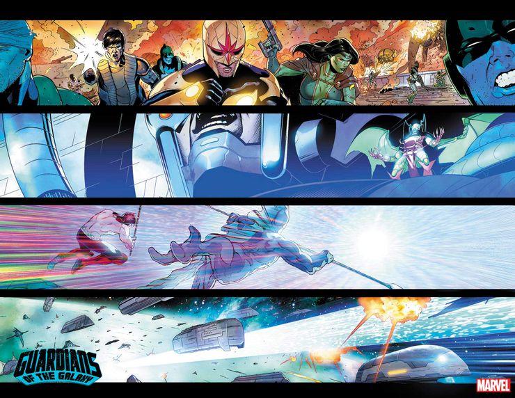Guardiani della Galassia #11, anteprima 03