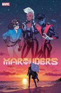 Marauders #20, copertina di Russell Dauterman