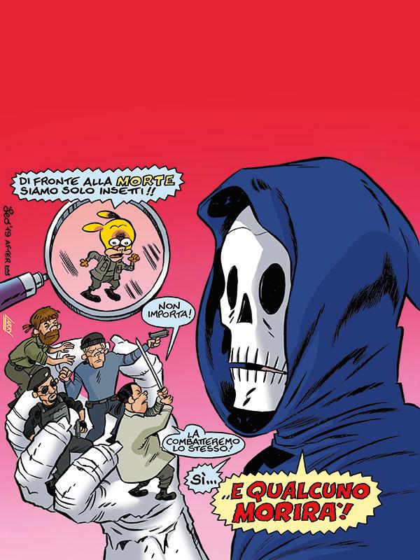 Rat-Man Gigante 68, copertina di Leo Ortolani