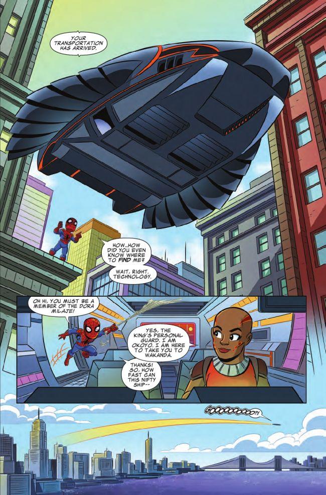 Marvel Super Hero Adventures: Spider-Man and the Stolen Vibranium #1, anteprima 03