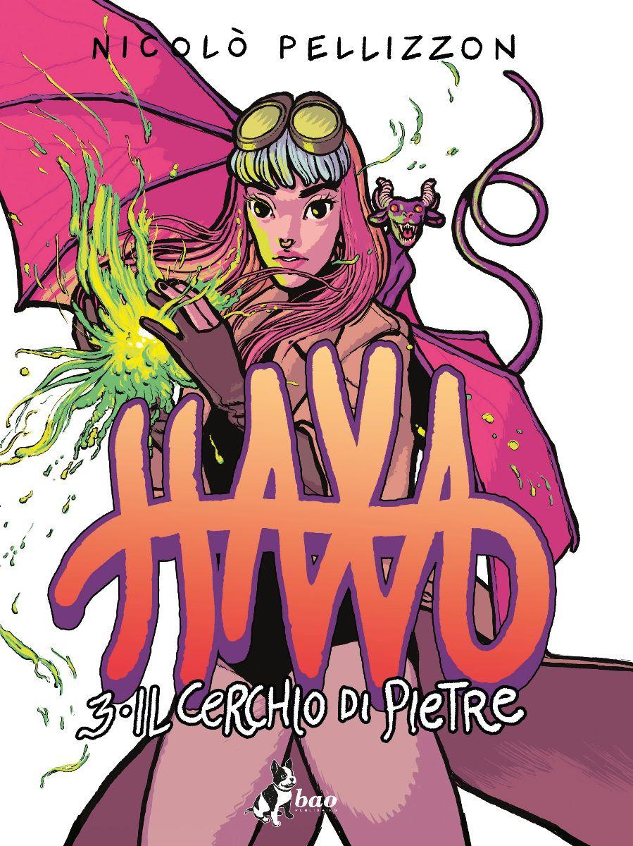 Haxa vol. 3: Il cerchio di pietre, copertina di Nicolò Pellizzon