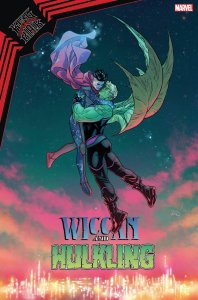 King in Black: Wiccan and Hulkling #1, variant cover di Russell Dauterman
