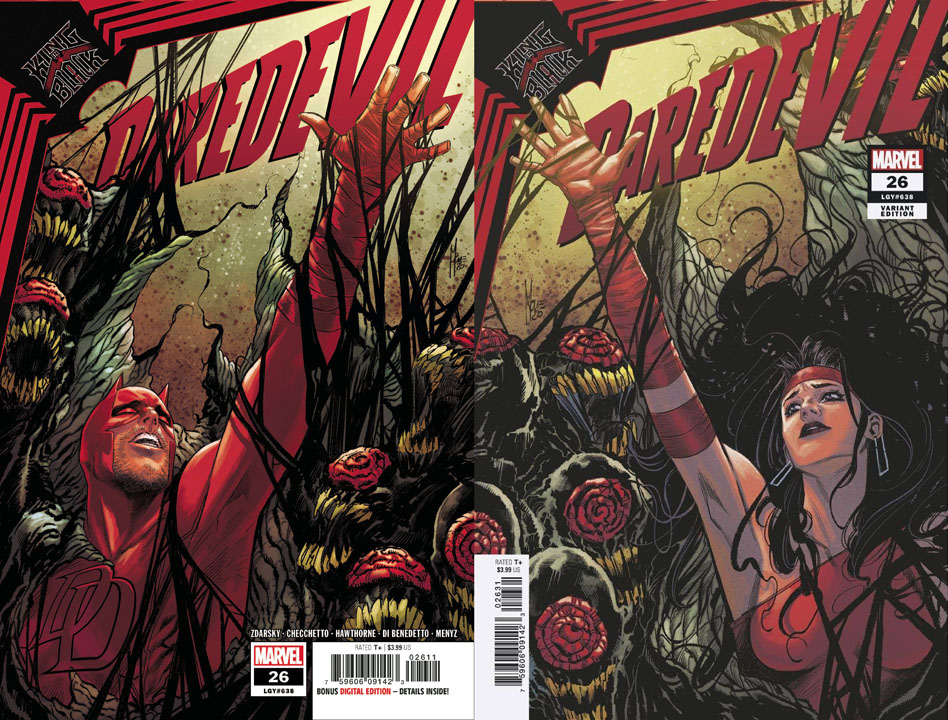 Daredevil, copertina di Marco Checchetto