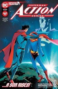 Action Comics #1029, copertina di Phil Hester