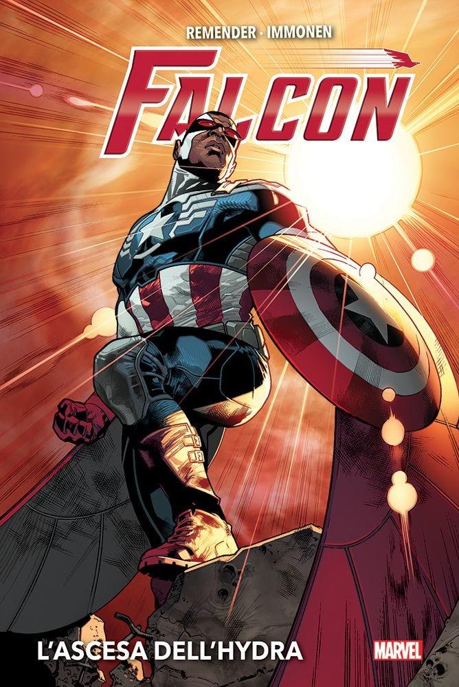 Falcon: L'ascesa dell'Hydra, copertina di Stuart Immonen