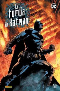 La tomba di Batman vol. 2, copertina di Bryan Hitch