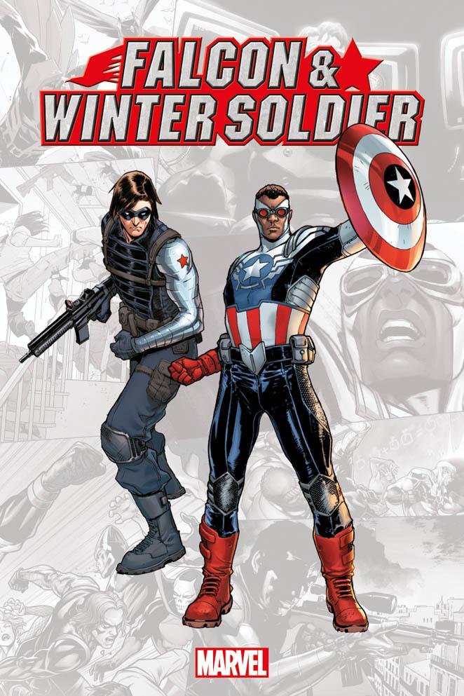 Marvel-Verse: Falcon & Winter Soldier, copertina di Sara Pichelli