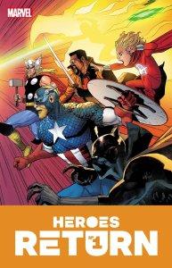 Heroes Return #1, copertina di Leinil Francis Yu