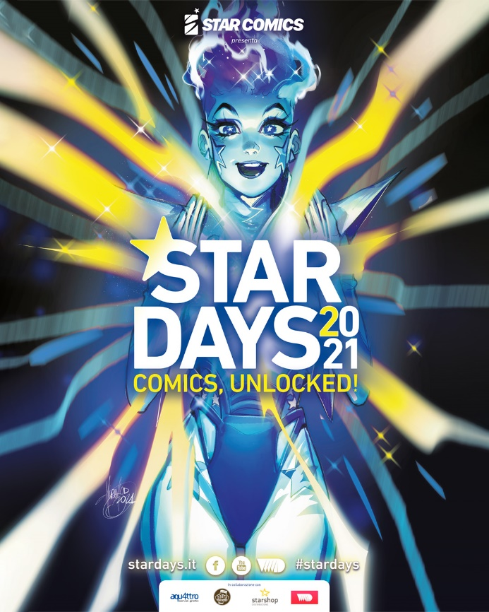 Star Days 2021, locandina di Mirka Andolfo
