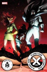 Planet-Size X-Men #1, copertina di Pepe Larraz