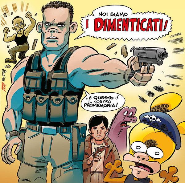 Rat-Man Gigante 69, copertina di Leo Ortolani