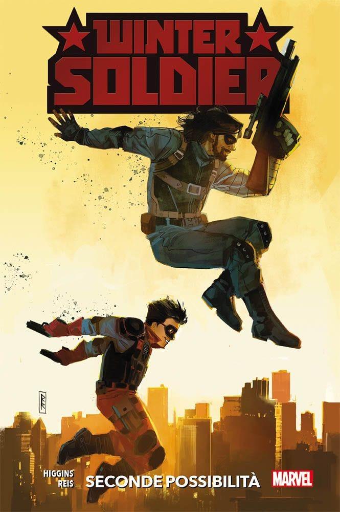 Winter Soldier: Seconde possibilità, copertina di Rod Reis