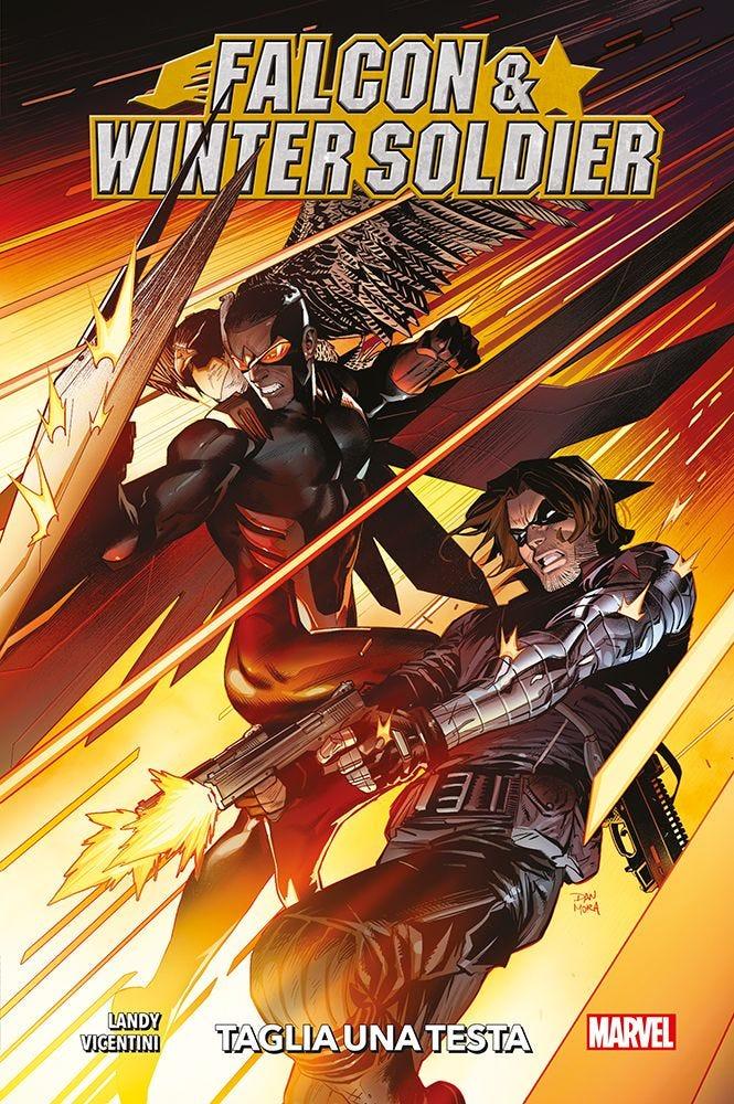 Falcon & Winter Soldier: Taglia una testa, copertina di Dan Mora