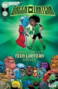 Green Lantern #1, copertina di Bernand Chang