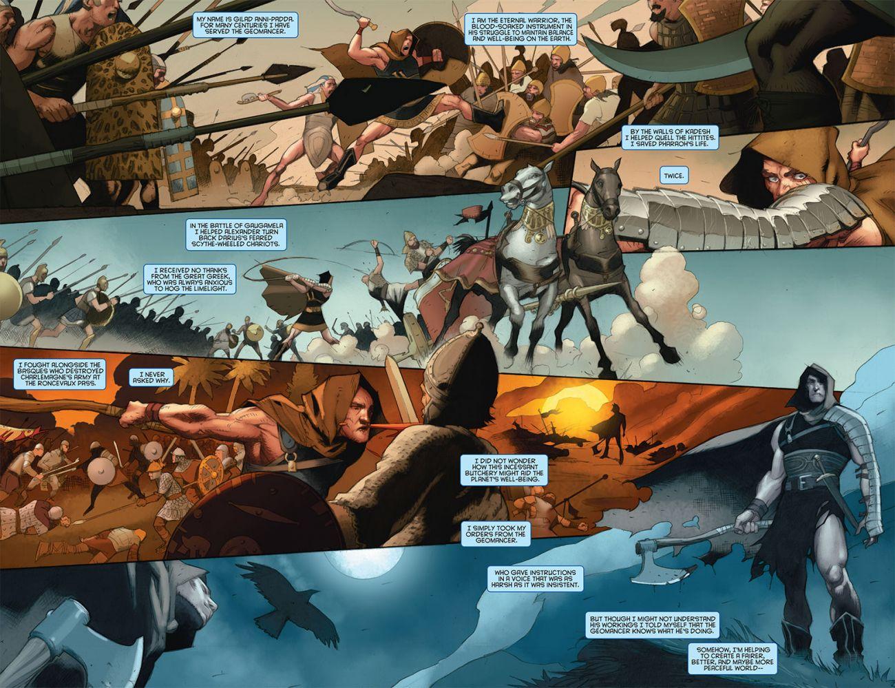 Eternal Warrior: Days of Steel #1, anteprima 01