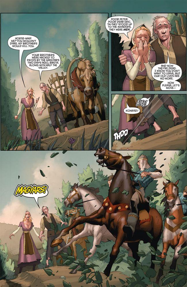 Eternal Warrior: Days of Steel #1, anteprima 03