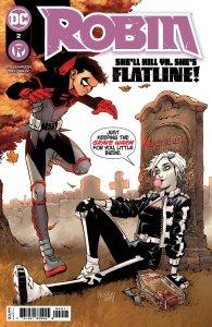 Robin #2, copertina di Gleb Melnikov