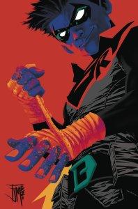 Robin #2, variant cover di Francis Manapul