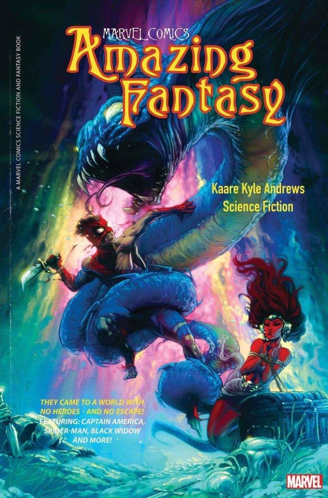 Amazing Fantasy #1, variant cover di Kaare Andrews