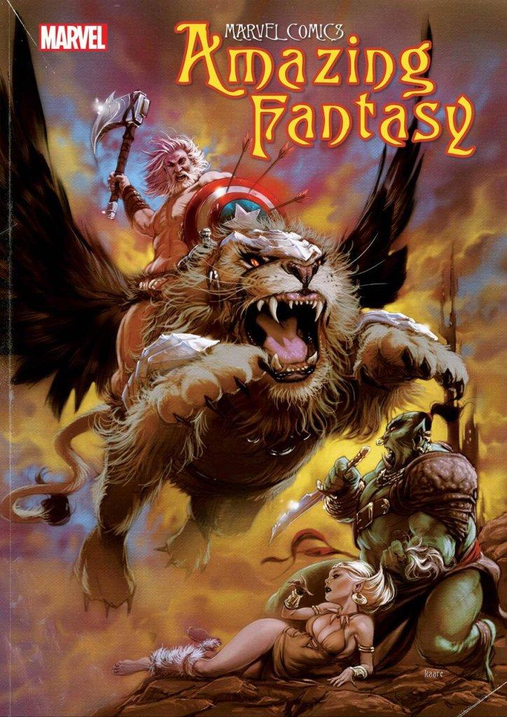 Amazing Fantasy #1, copertina di Kaare Andrews