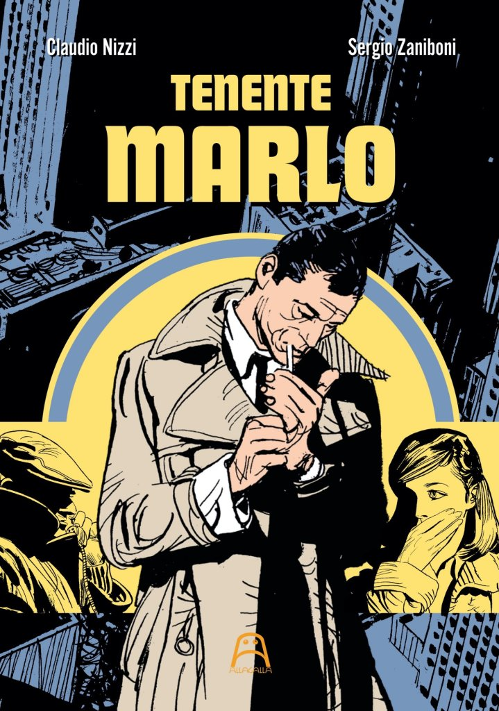 Tenente Marlo, copertina di Sergio Zaniboni