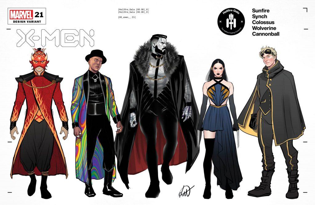 X-Men #21, variant cover di Lucas Werneck