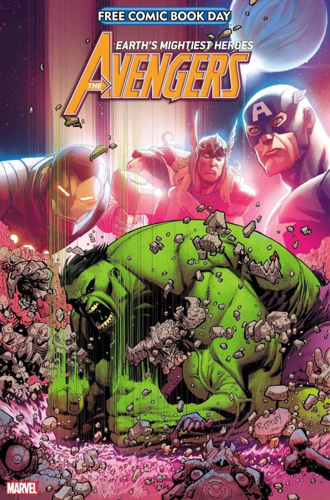 Free Comic Book Day 2021: Avengers/Hulk, copertina di Ryan Ottley