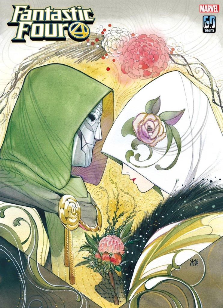 Fantastic Four #42, variant cover di Peach Momoko