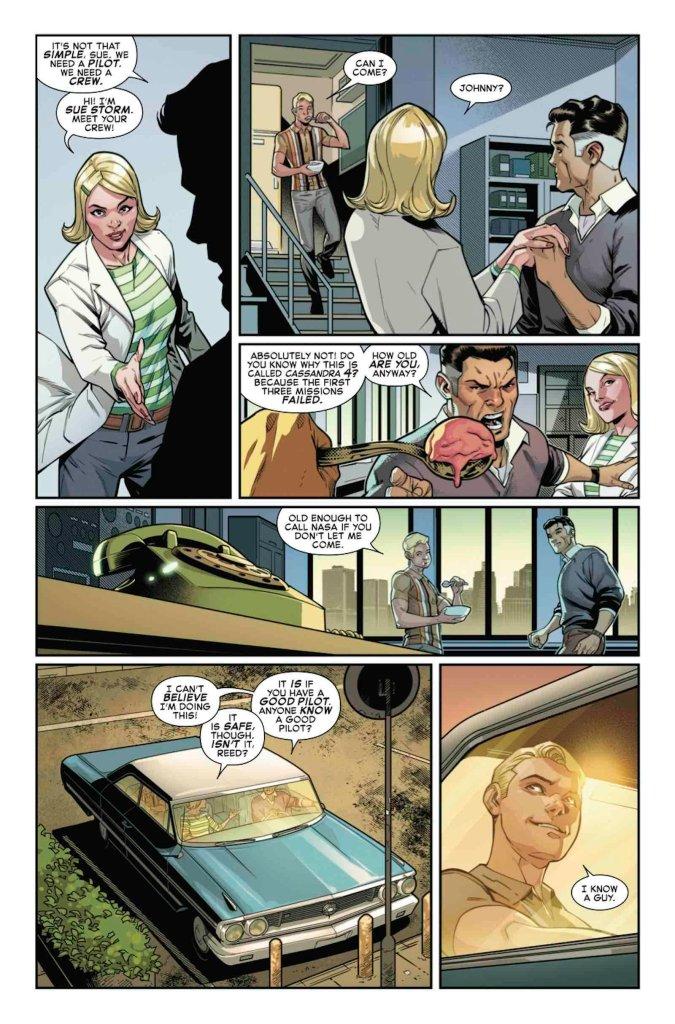 Fantastic Four: Life Story #1, anteprima 01