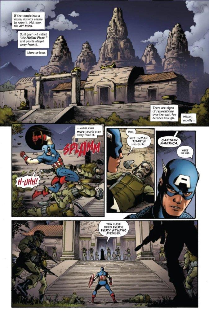 The Marvels #1, anteprima 01