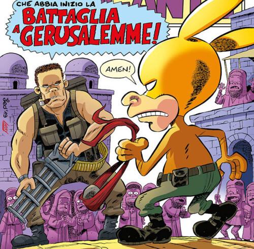 Rat-Man Gigante 70, copertina di Leo Ortolani