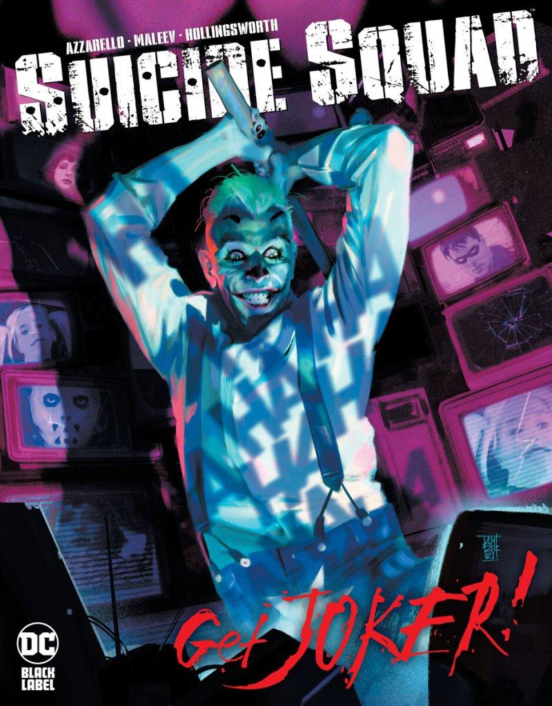 Suicide-Squad: Get Joker! #1, copertina di Alex Maleev
