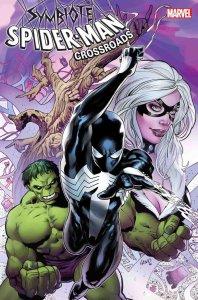 Symbiote Spider-Man: Crossroads #1, copertina di Greg Land