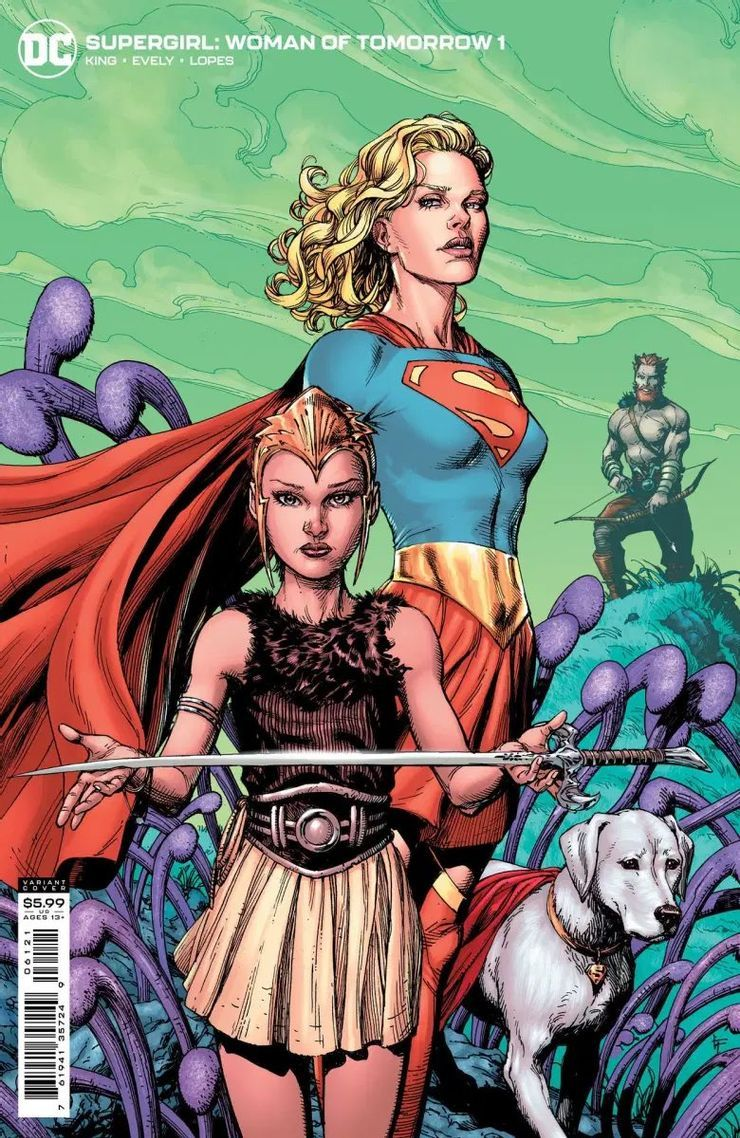 Supergirl: Woman of Tomorrow #1, variant cover di Frank Gary