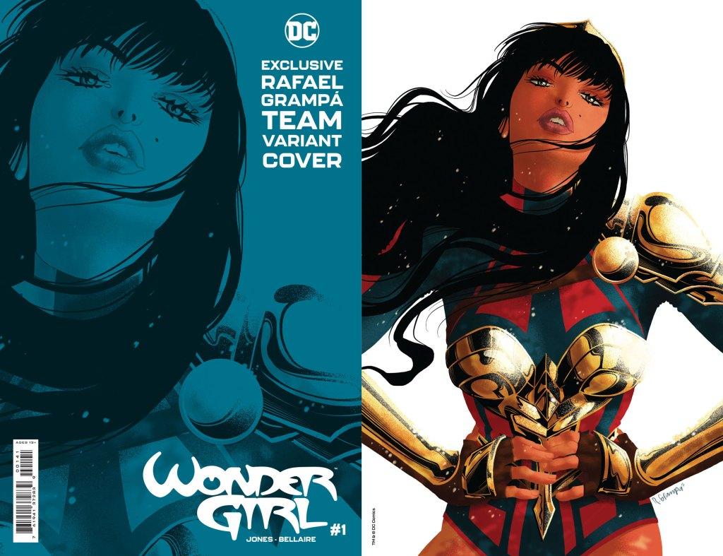 Wonder Girl #1, variant cover di Rafael Grampa