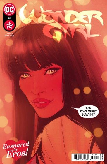 Wonder Girl #3, copertina di Joelle Jones